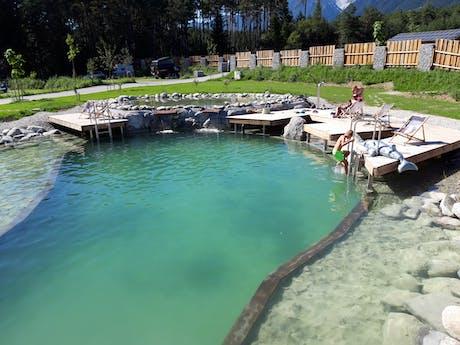 Sonnenplateau Gerhardhof zwemvijver