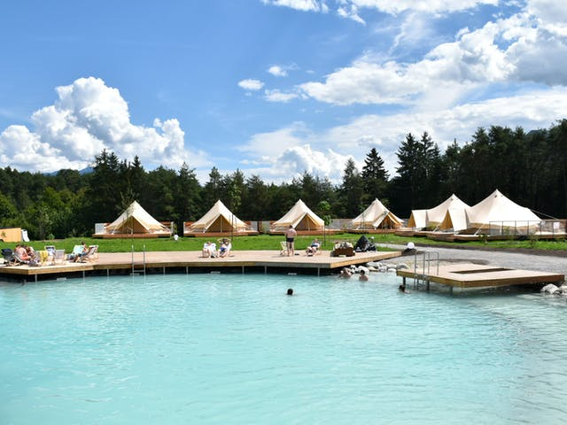 Sonnenplateau Gerhardhof zwembad 2