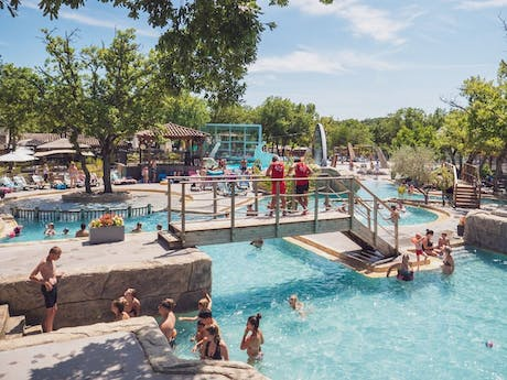 Camping le Ranc Davaine zwembad