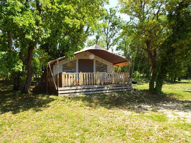 Lodgetent Holiday Luxe camping Valkanela