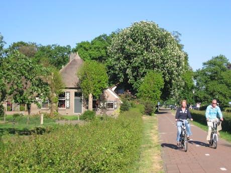 Fietsen op de Veluwe Nederland