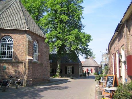 Dorpje op de Veluwe Nederland