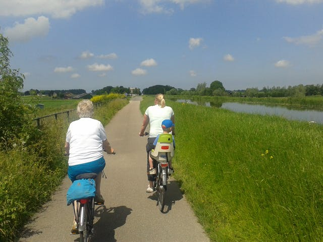 Fietsen in Nederland Holland