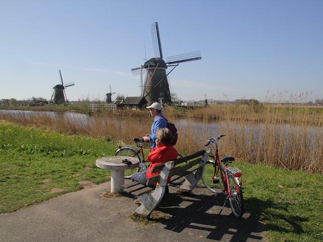 Kinderdijk fietsen Nederland