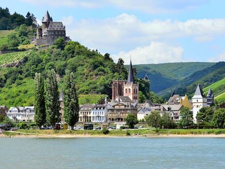 Oberwesel Rijn Duitsland
