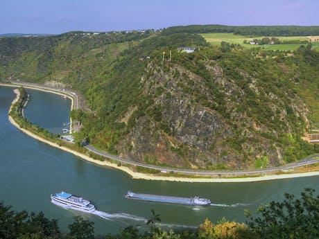 Loreleyrots Rijn Duitsland