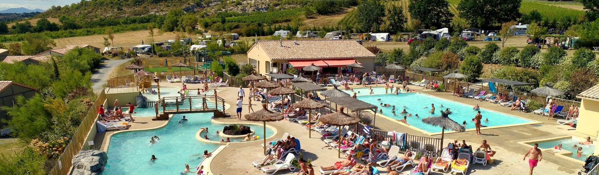 Camping les Arches - buitenzwembad