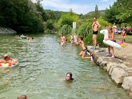 Camping Les Arches natuurbad