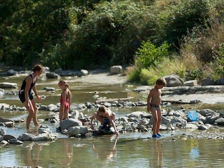 Camping Les Arches rivier