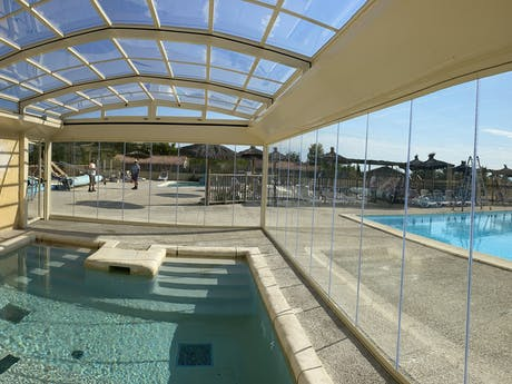 Camping Les Arches jacuzi