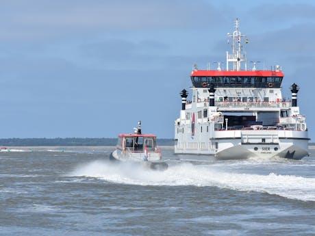 Veerboot naar Ameland