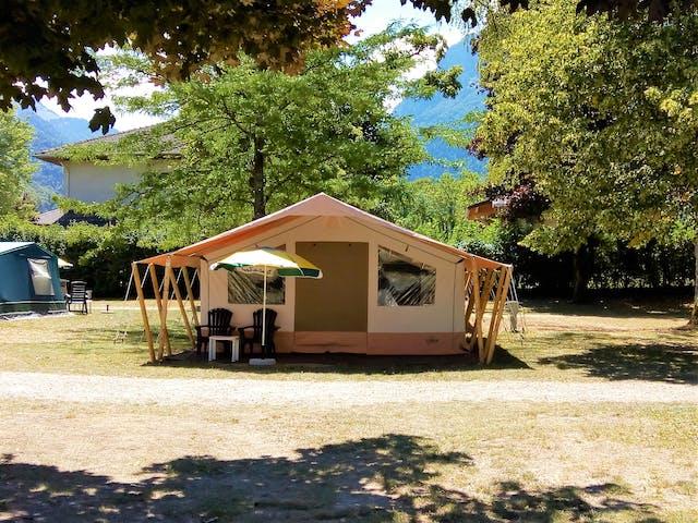 Safaritent Caramel Rent-a-Tent