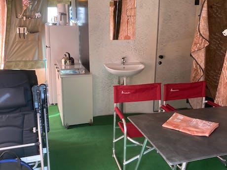 GlamLodge tent Premium Duinoord interieur