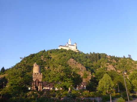 Rheinsteig Braugbach Marksburg